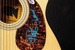 Cheech and Chong signed guitar