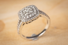 14ct gold 1ct TDW ring by Michael Hill