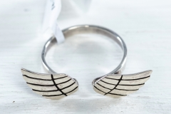 Sterling Silver Angel Wings