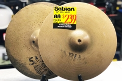 """Sabian AA Fusion 14"""" Hi-hats"""
