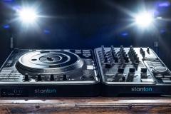 Stanton DJ controller and mixer