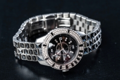 DIOR diamond & black christal ladies watch