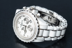 Michael Hill diamond & white ceramic watch