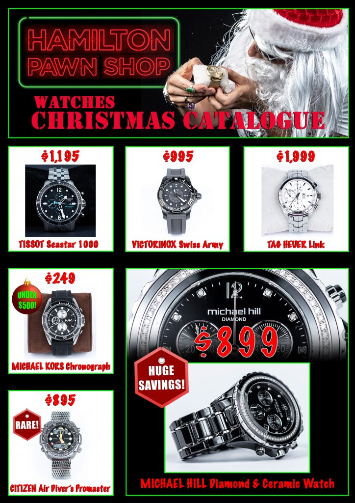 2018 Christmas catalogue - watches